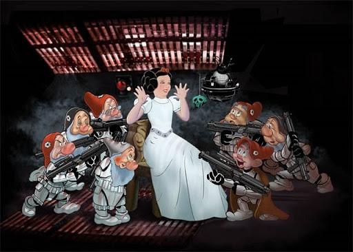 Princess Leia is a Disney Princess