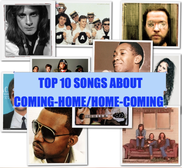 Top Ten Songs About Home(coming)