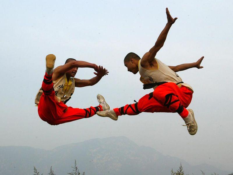 Kung Fu-vies, heyah!
