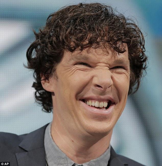 Cumberbatch looks Strange.