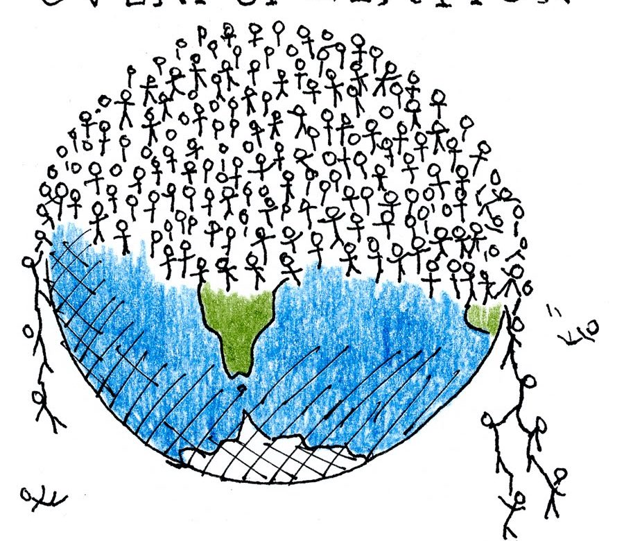 overpopulations effect on environment The purpose of this essay is to show the negative effects that over population can bring to society over population could bring pollution problems there will be more cars polluting the air.