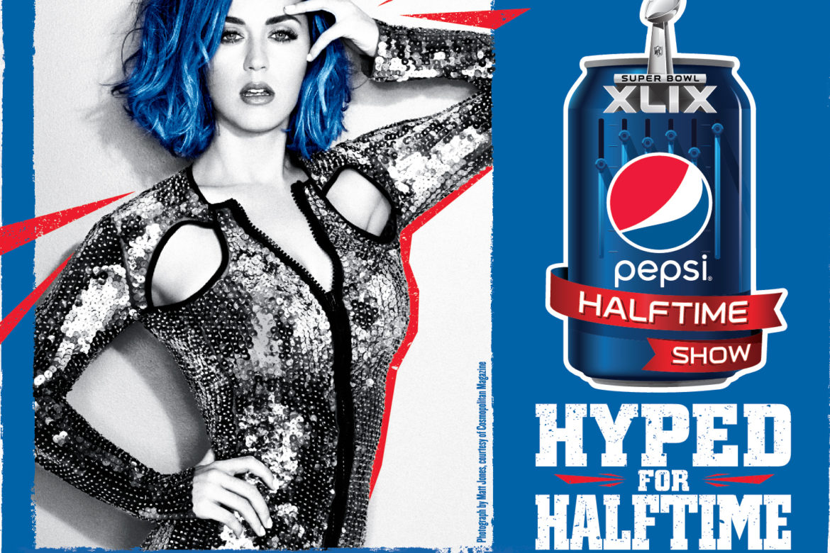 Katy Perry for 2015 Super Bowl Half Time Show