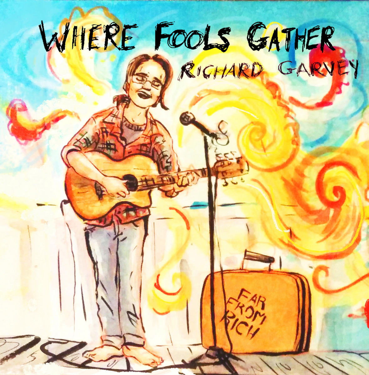 Richard Garvey 'Where Fools Gather' Review