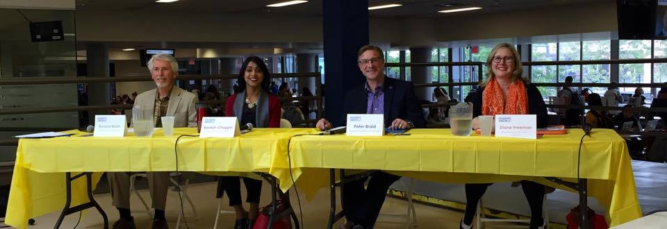 Laurier Students Meet Their Federal Candidates