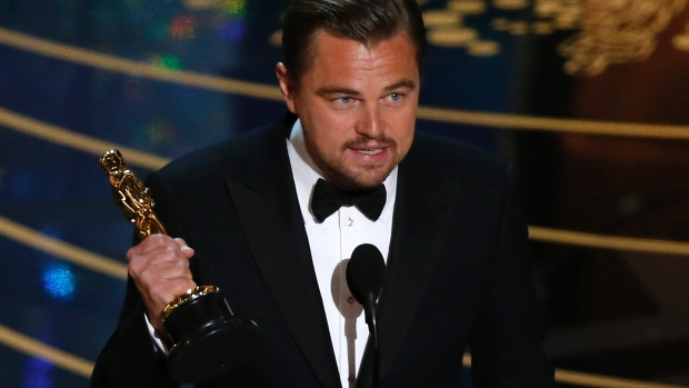 And DiCaprio wins the Oscar!